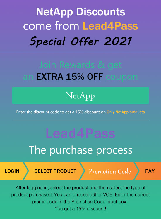 netapp coupon code